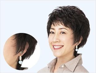 装着時の違和感をテクロート(耳芯)で解消