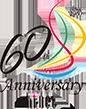 ハイネット60種年ロゴ